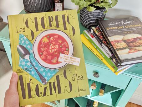 Mes 5 livres préférés de cuisine végétalienne