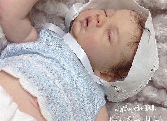 Bebê reborn lovelyn dormindo