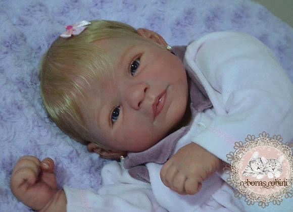 Bebê reborn Leah Jolin
