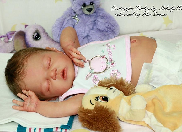 Bebê reborn molde Harley