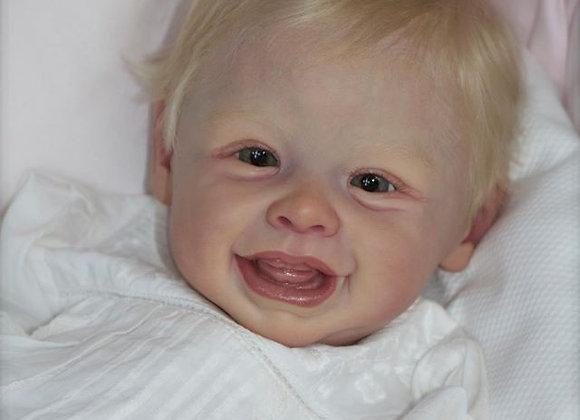 Bebê reborn kit harper