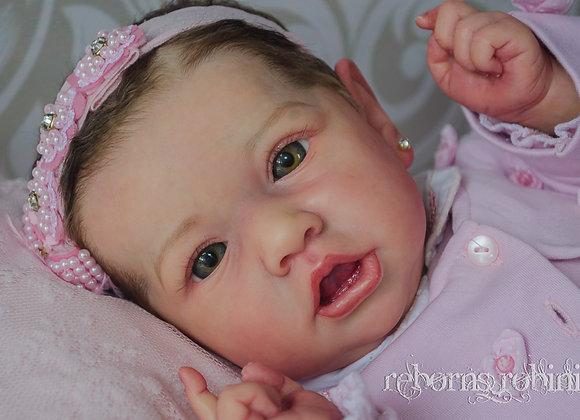 Reborn baby Saskia