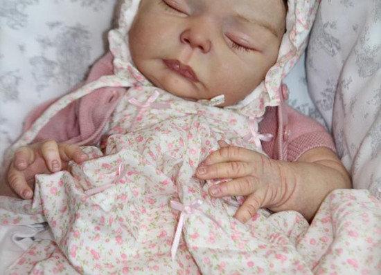 Bebê reborn Rosa