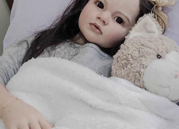 Criança reborn Angélica