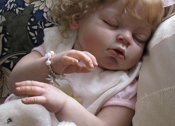 Bebê reborn Ariana dormindo