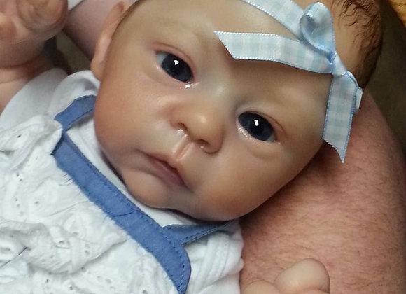 Bebê reborn kit harlow