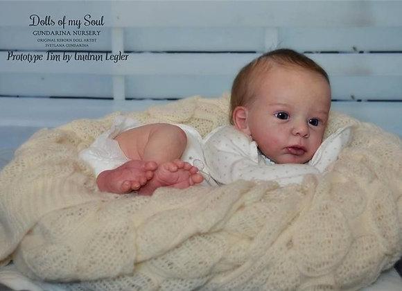 Bebê reborn Tim