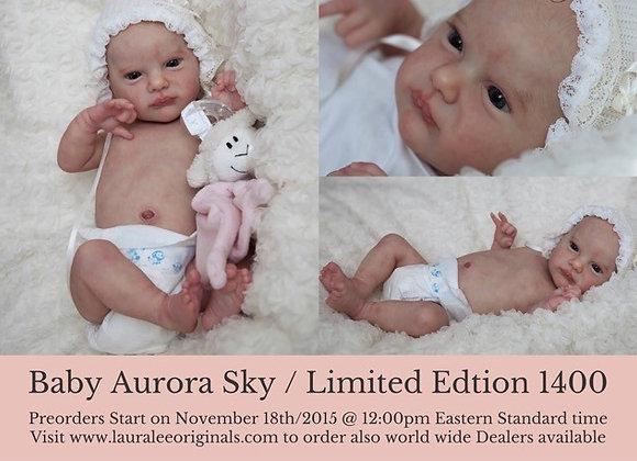 Bebê reborn Aurora Sky