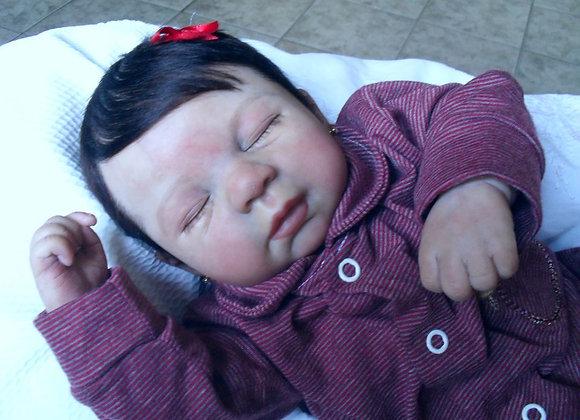 Reborn baby Sarah dormindo