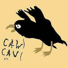 Picture via 123rf.com Cartoon crow by Vo
