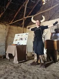 Iron Age Roundhouse Butser Ancien Farm