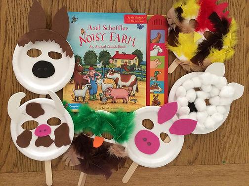 Magical Mondays: Noisy Farm Animal Masks - An Extra Edition