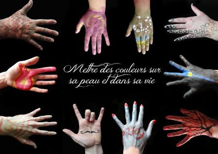 Mettre des couleurs sur sa peau et dans sa vie, Lille atelier de Bodypainting avril 2014
