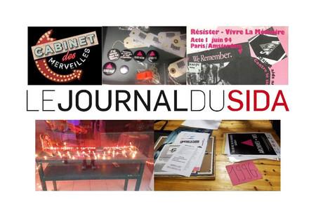 Rencontre avec le Journal du Sida, nous et la bibliothèque