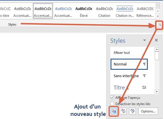 Par l'ajout d'un nouveau style, vous pourrez gérer la correction orthographique d'autres langues dans un même document.