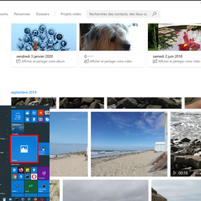 Gestion de l'audio avec Photos de Windows 10