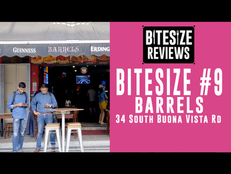 BITESIZE #9 - BARRELS. The BEST Curry in Singapore!