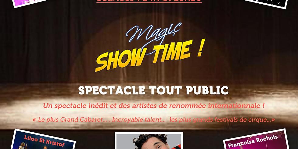 Magic Show Time ! - 14h00