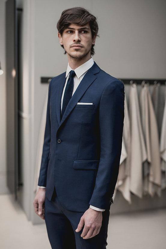 Costume bleu Prince de Galles business