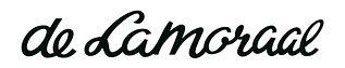 de Lamoraal logo Black met adres gegeven