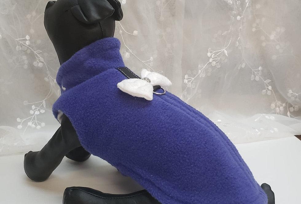 Manteau bulle mauve
