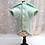 Thumbnail: Manteau molleton vert menthe non doublé