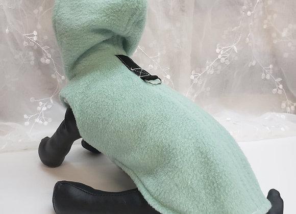 Manteau bulle vert menthe