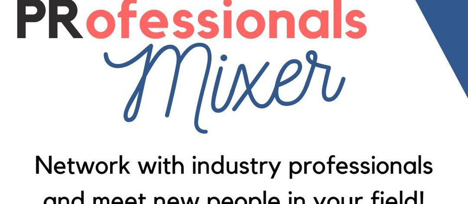 PRSSA Mixer: Overcoming challenges and trusting yourself with Awa Sy