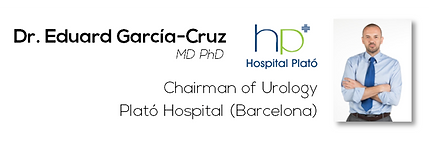 Dr. Eduard García-Cruz, MD PhD (Plató Hospital)