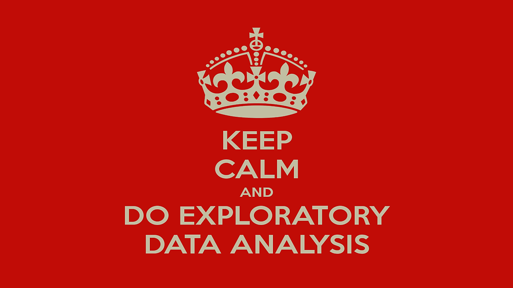 Keep Calm And Do Exploratory Data Analysis