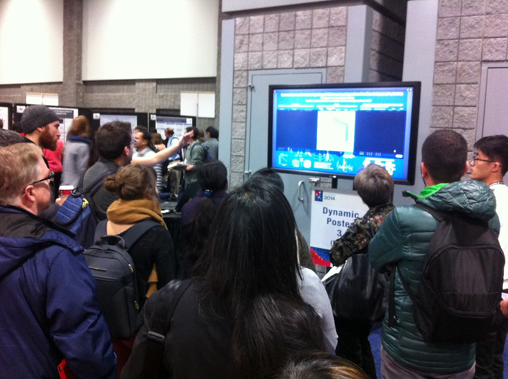 Dynamic poster session at SfN 2014