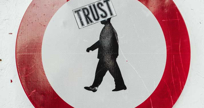 Trust is something earned not an algorithm.