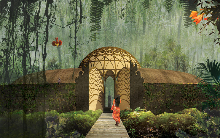 Jungle Spa Reception