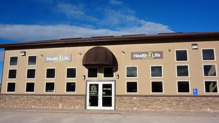 Health 4 Life Fitness Front Entrance