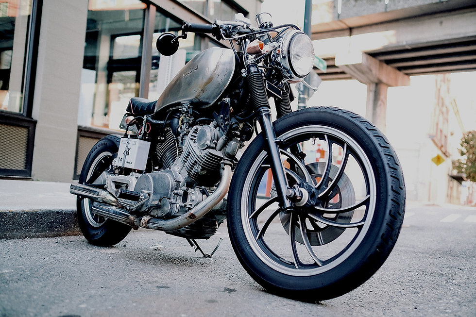 Black Motorcycle