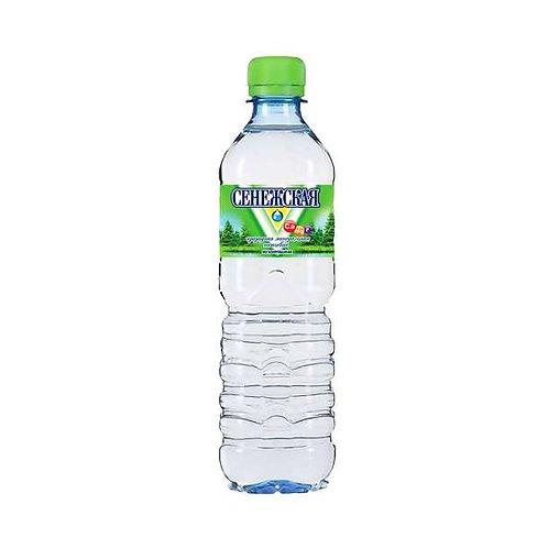 Минеральная вода СЕНЕЖСКАЯ 12 х 0,5л