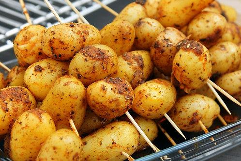 Картофель черри на шпажке 100 гр