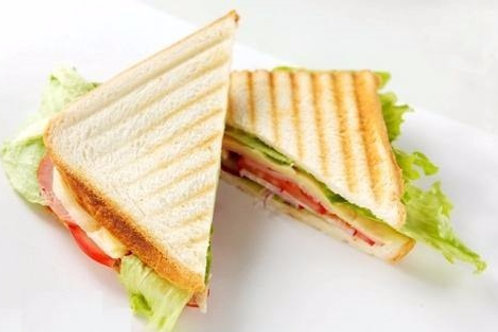 Мини сендвич с ветчиной и сыром 45 гр