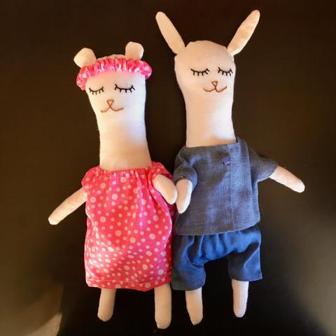 Couple oursonne lapinou
