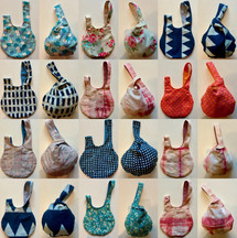 """one knot-bag"" collection"