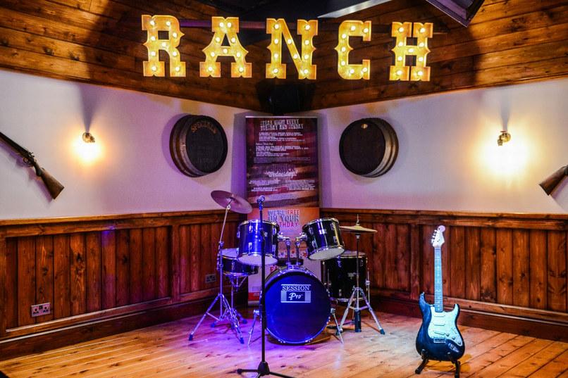 Band area