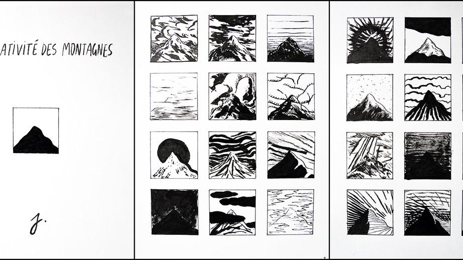 La relativité des montagnes, Julien Porquet, 3e prix