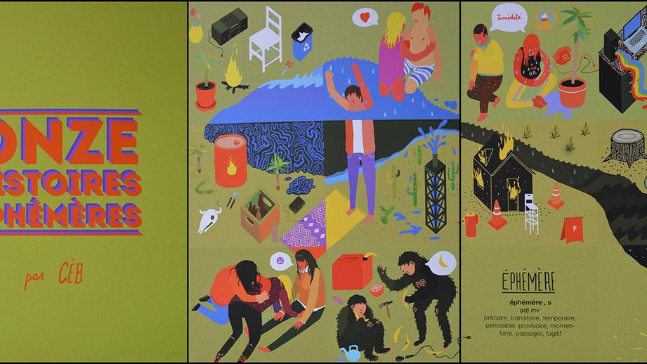 Onze histoires éphémères, Charles-Étienne Brochu, 2e prix