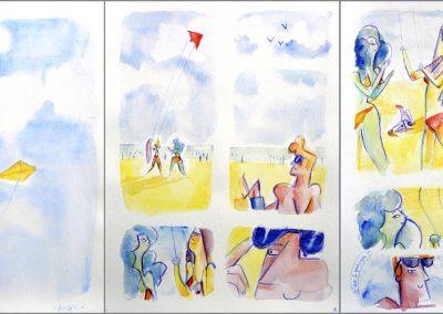 Aram Mahmoud, Les Cerfs-Volants, 1e prix
