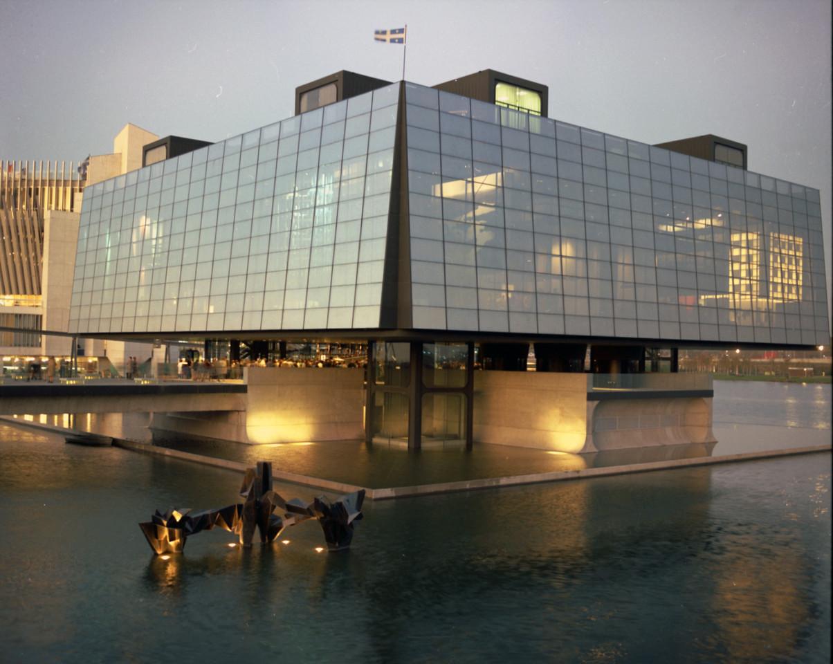 Transparence du pavillon du Québec à l'expo 1967, Banq, Fonds Ministère de la Culture