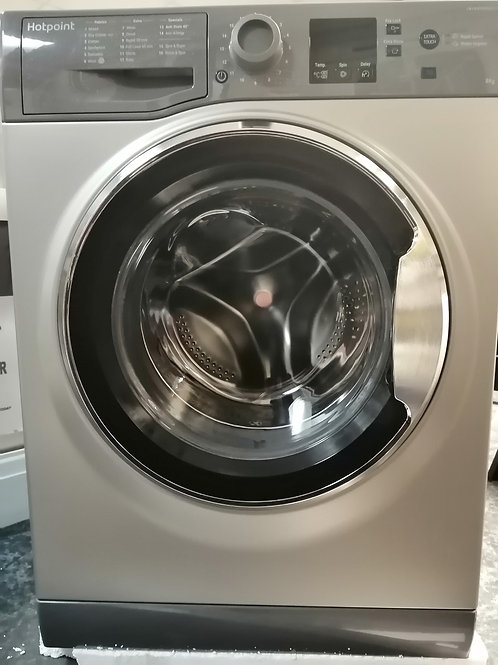 Hotpoint 8kg 1400 Spin Washing Machine with Steam Action