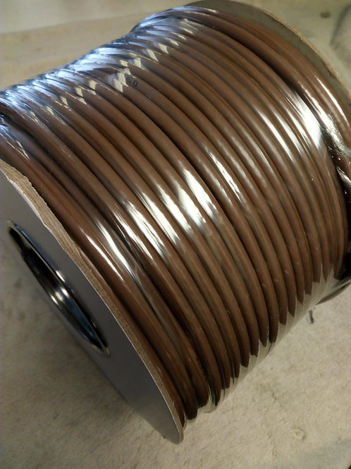 Coax Cable Brown RG6 100M