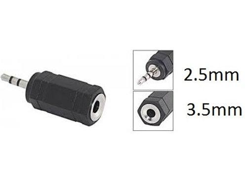 3.5mm jack to 2.5mm jack converter