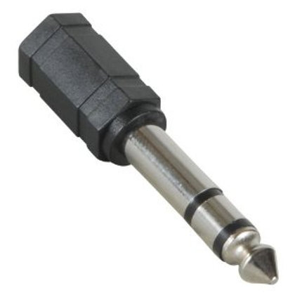 "3.5mm to 1/4"" adaptor"