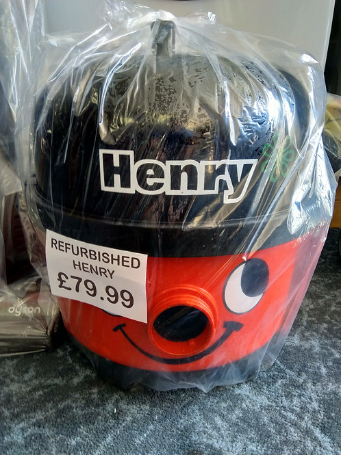 Henry vacuum with New Tools
